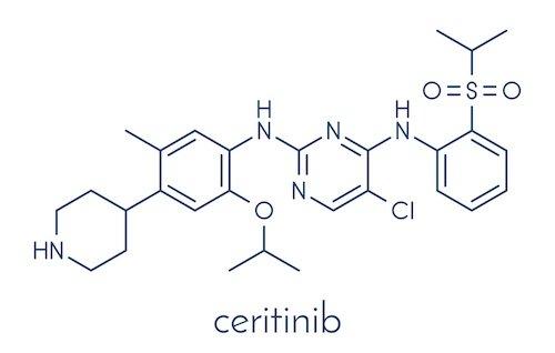 ceritinib lung cancer